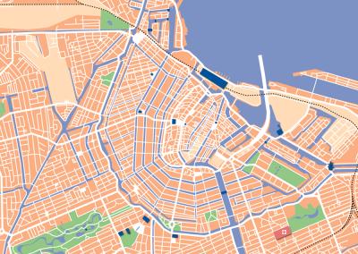 Kaart-Amsterdam